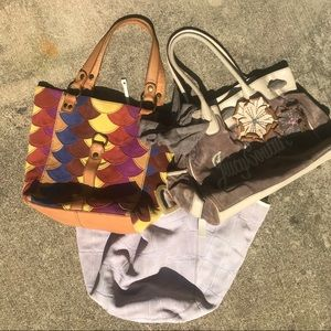 Designer Shoulder Bag Bundle (Lot of 2)